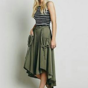Free People Cargo Skirt NWT SZ L